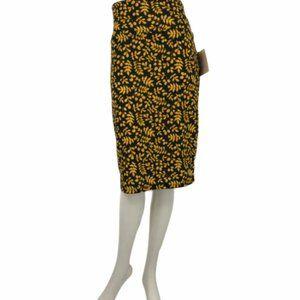 LuLaRoe   Leafy Cassie Pencil Skirt